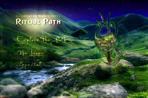 main menu on ritual path dvd